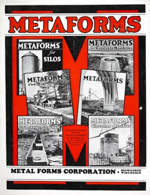 Metaforms Trademark for Concrete Forming
