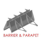 Concrete Barrier Parapet Forms