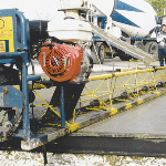 Speed Screed truss machines used to produce superior concrete slabs