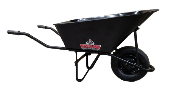 STEEL HANDLE WHEELBARROW