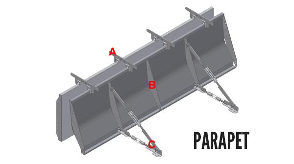 Concrete Barrier Form Setup with Moment Arm