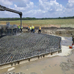 Concrete Forms Used in Wind Farm Construction