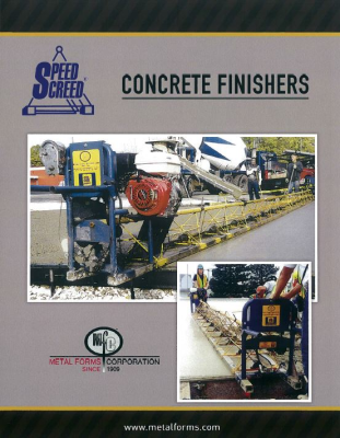 SCREED BROCHURE COVER