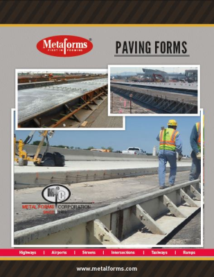 PAVING FORM BROCHURE COVER