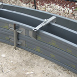 Poly Form Curb and Gutter Stacking Forms