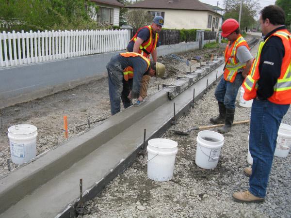 Plastic Concrete Form Styles Metal Forms Concrete