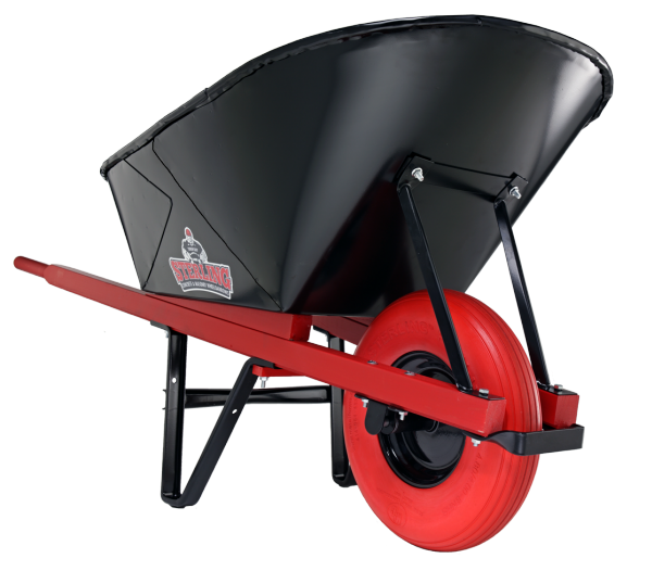 Sterling Heavy Duty Contractor Wheelbarrow made in the USA
