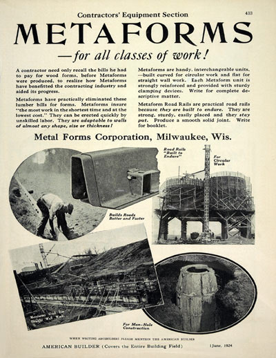 Metal Forms 1919